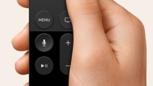 Fernbedienung des neuen Apple TV