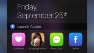 Ein neues Update von Launch Center Pro bringt ein Widget für die Heute-Ansicht.
