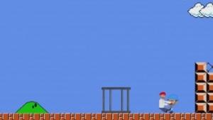 Jump 'n' Run: Die Flucht als Level in Super Mario