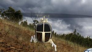 Robotic Landing Gear: Landung auf schiefer Ebene
