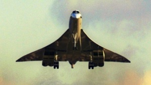 Überschalljet Concorde: das Problem mit dem Überschallknall überwinden