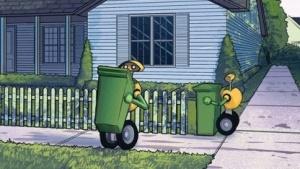 Robotische Müllabfuhr: neue Konzepte für Transportlösungen für morgen