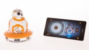 BB-8 und die Steuerungs-App auf einem Android-Smartphone