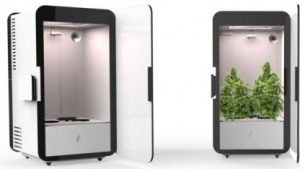 Gewächsschrank Plug n' Plant: Anbau per Smartphone verfolgen