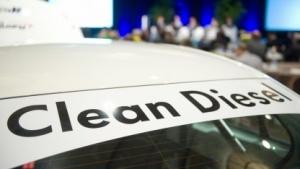 """Offenbar nur ein leeres Werbeversprechen: der Slogan """"Clean Diesel"""" von VW"""