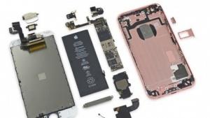 Das auseinandergenommene iPhone 6S