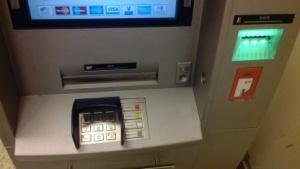 Sparkassen-Geldautomat in Berlin