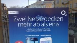 Telefónica-Werbung in Berlin