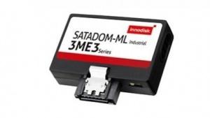 Die Satadom-MV 3ME3 kommt ohne DRAM-Cache aus und nutzt den siebten Sata-Pin zur Stromversorgung.
