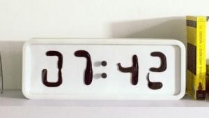 Uhr Rhei: Die Zeit fließt.