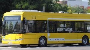 Die Linie 204 wird nur noch teilweise mit den neuen E-Bussen betrieben.