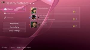 Community-Seite auf der Playstation 4