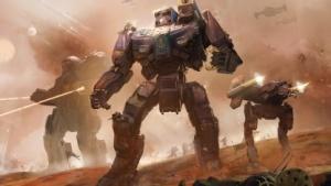 Artwork von Battletech