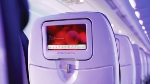 Redtouch-Screen-System von Virgin America