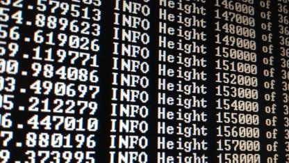 Ihren Namen hat die Blockchain von den Blocks - Dateien, die alle Informationen über Transaktionen gespeichert haben.