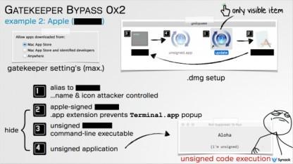 Patrick Wardle hat einen weiteren Angriff auf Apples Gatekeeper-Software vorgestellt.