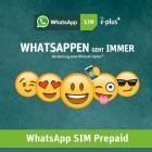 E-Plus: Whatsapp SIM ab jetzt ohne 1-GByte-Volumenpaket