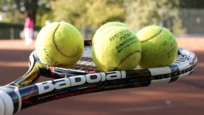 Der Babolat-Pure-Drive-Tennisschläger im Einsatz