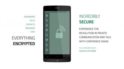 Das Granite-Phone wirbt mit verschlüsselter Kommunikation.