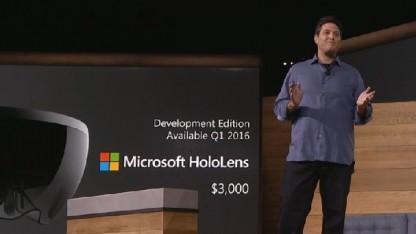 Das Dev-Kit der Hololens ist Anfang 2016 verfügbar