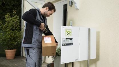 Die Box mit Parcellock-Technik
