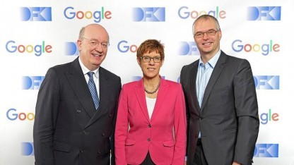 Wahlster, Ministerpräsidentin Kramp-Karrenbauer, Holfelder