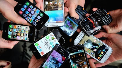 Zu viel Smartphone kann schaden.