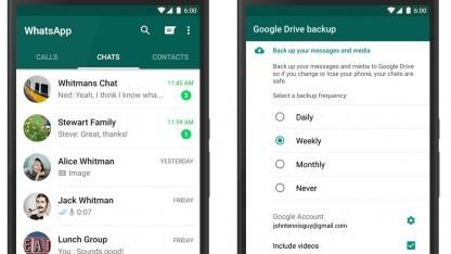 Merkfunktion Und Google Drive Whatsapp Wird Einfacher Zu