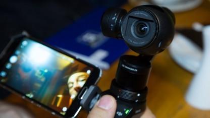 DJIs erste stabilisierte Handkamera Osmo