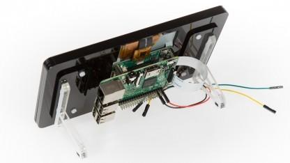 raspberry pi display die bedienkonsole. Black Bedroom Furniture Sets. Home Design Ideas