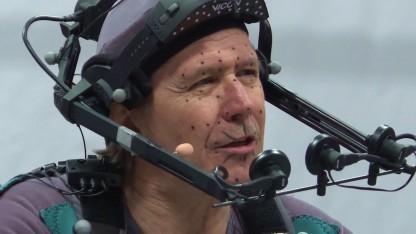 Gary Oldman bei den Motion-Capture-Aufnahmen zu Squadron 42