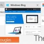 Insider Build: Windows 10 erhält verbesserten Edge-Browser