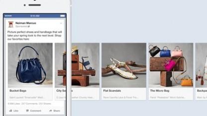 Facebook testet seine Shopping-Funktion auch auf mobilen Geräten.