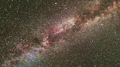 Kepler-Aufnahme unserer Michstraße