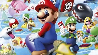 Artwork mit Super Mario