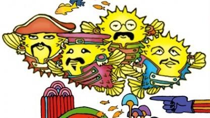 Das OpenBSD-Maskottchen als Hommage an die Beatles