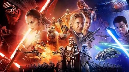Ausschnitt Filmplakat Star Wars 7: Das Erwachen der Macht