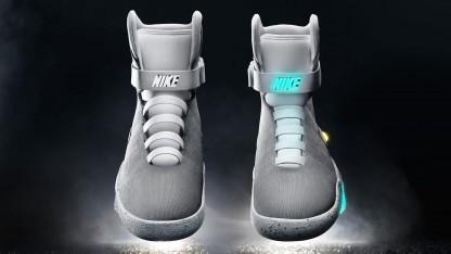 Nike Mag: Motorengeräusche statt kurzes Zischen