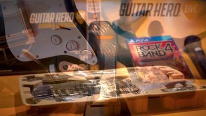 Guitar Hero Live vs. Rock Band 4