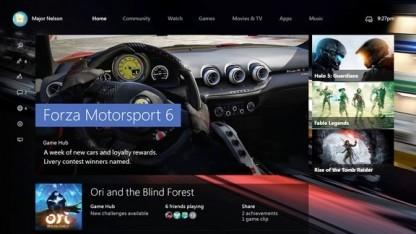Xbox One - neue Benutzeroberfläche