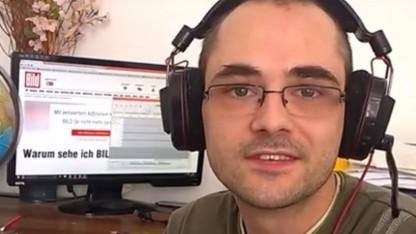 Youtuber Tobias Richter lässt sich vom Axel-Springer-Verlag nicht einschüchtern.