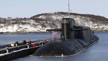 Russisches U-Boot Jekaterinburg (Archivbild von 2011)