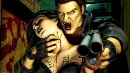 Artwork eines älteren Vampire-The-Masquerade-Spiels von Activision