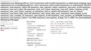 """Eine fehlerhafte Konfiguration der Debugging-Umgebung """"Werkzeug"""" führte zu dem Hack."""