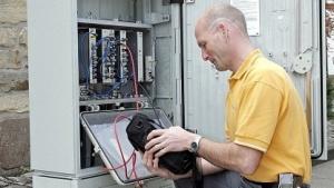 Techniker von Kabel Deutschland