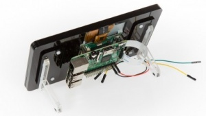 Raspberry Pi Display mit Raspberry Pi 2