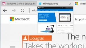 Neue Tab-Vorschau im Edge-Browser