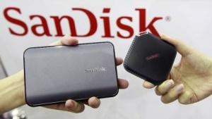 Sandisks neue portable SSD im Juni 2015 auf der Computex