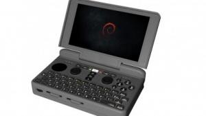 Darstellung des geplanten Linux-Handhelds Pyra