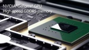 Im Surface Book steckt eine Geforce 940M mit GDDR5- statt DDR3-Speicher.